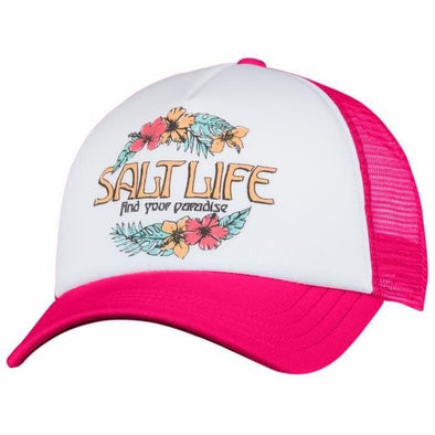 Headwear Salt Life Women's Find Paradise Cap - Shop The DocksSalt Life Headwear