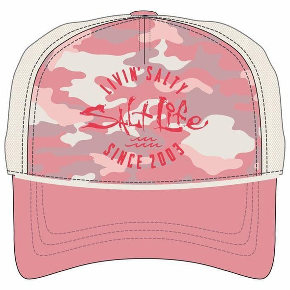 Headwear Salt Life Women's Camowaves Cap - Shop The DocksSalt Life Headwear