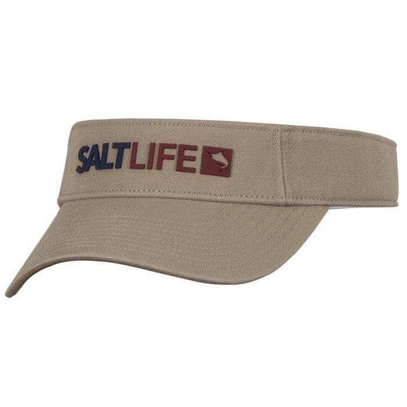 Headwear Salt Life Men's Modern Marlin Cotton Twill Visor - Shop The DocksSalt Life Headwear