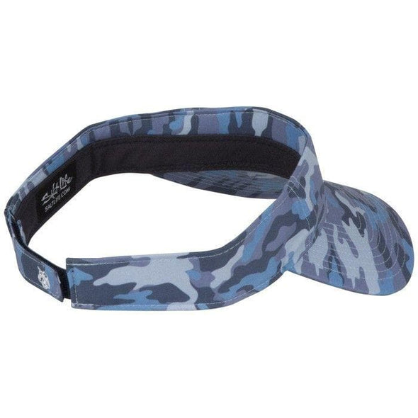 Headwear Salt Life Women's Camowaves Performance Sublimated Visor - Shop The DocksSalt Life Headwear