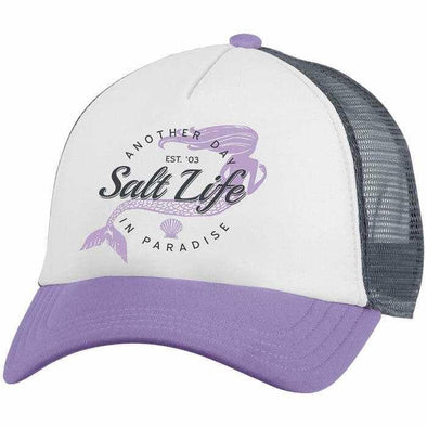 Headwear Salt Life Women's Mermaid Paradise Trucker Cap - Shop The DocksSalt Life Headwear