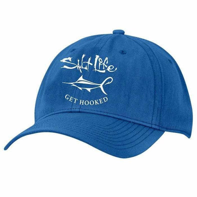 Headwear Salt Life Men's Get Hooked 6 Panel Cotton Twill Cap - Shop The DocksSalt Life Headwear