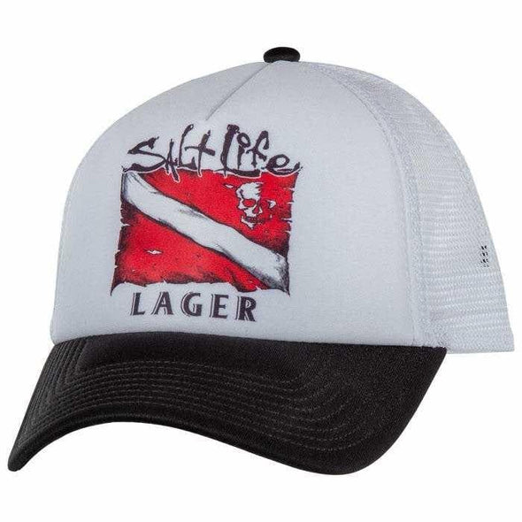 Headwear Salt Life Men's Lager Trucker Cap - Shop The DocksSalt Life Headwear