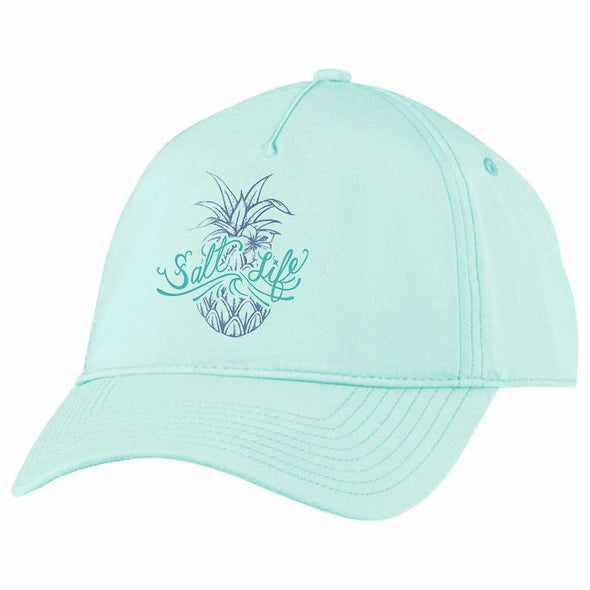 Salt Life Women's Signature Pineapple Aqua Marine Cap.