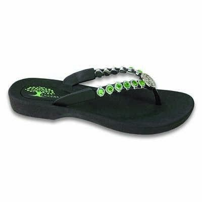Footwear Figuera Tree Women's Silver Celtic Knot Beaded Thong Sandal - Shop The DocksFiguera Tree Footwear