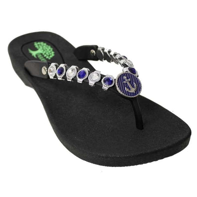 Footwear Figuera Tree Women's Anchor Beaded Thong Sandal - Shop The DocksFiguera Tree Footwear