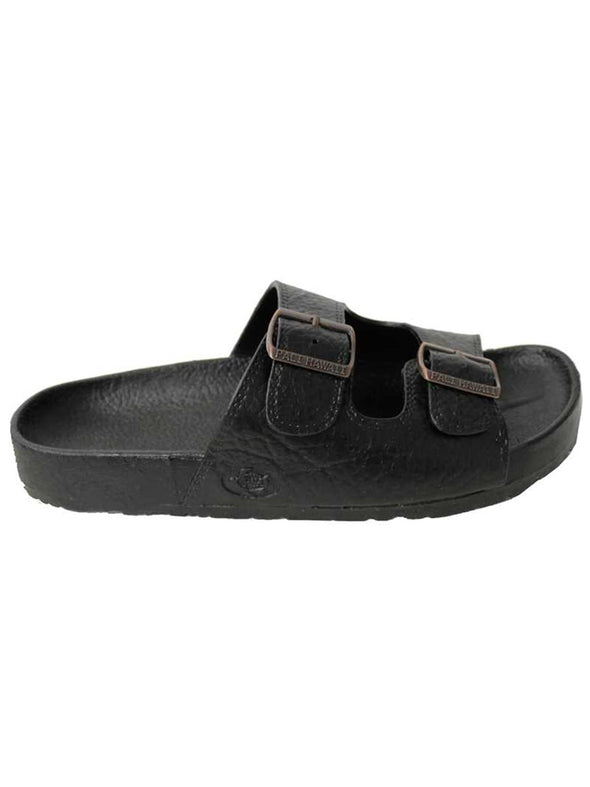 Footwear Pali Hawaii Unisex PH 438 Black Buckle Slide Sandal - Shop The DocksPali Hawaii Footwear