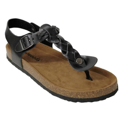 Footwear Outwoods Women's Bork 54 Braid Thong Buckle Sandal - Shop The DocksOutwoods Footwear
