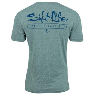 Apparel Salt Life Men's Mantra Triblend Tee Shirt - Shop The DocksSalt Life Apparel