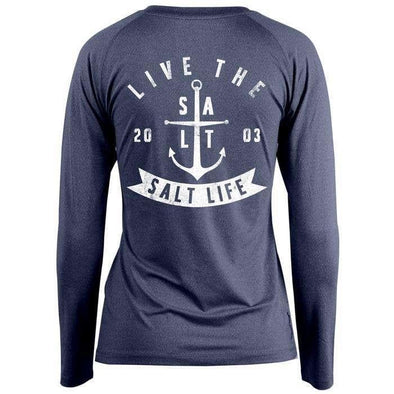 Apparel Salt Life Women's Ventura SLX Long Sleeve Performance Shirt - Shop The DocksSalt Life Apparel