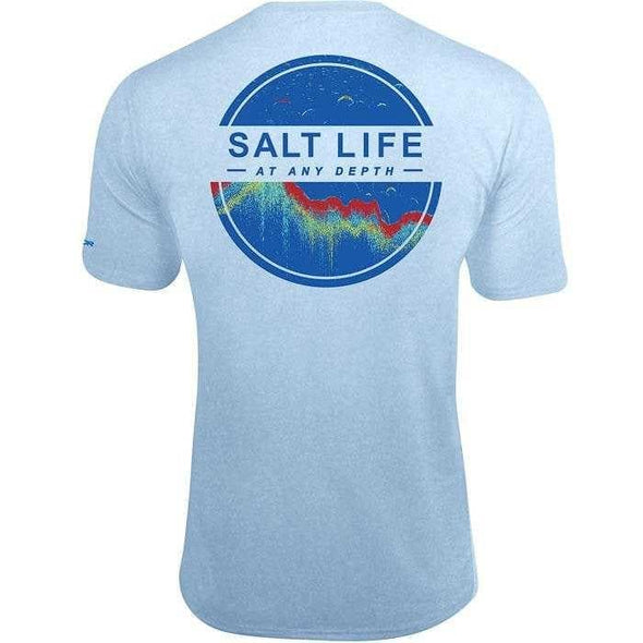 Apparel Salt Life Men's At Any Depth Short Sleeve Performance Shirt - Shop The DocksSalt Life Apparel