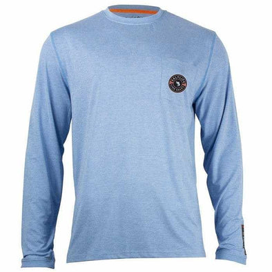 Apparel Salt Life Men's Aqualite Long Sleeve Pocket Performance Shirt - Shop The DocksSalt Life Apparel