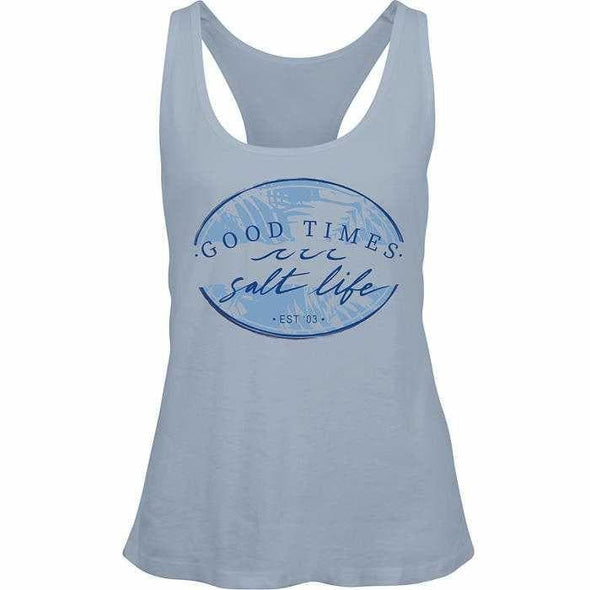 Apparel Salt Life Women's Good Times Raceback Tank Top - Shop The DocksSalt Life Apparel
