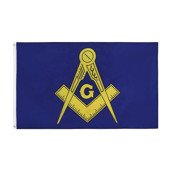 Freemason Masonic Blue & Gold 3' x 5' Flag