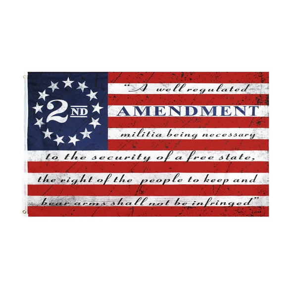 2nd Amendment Vintage American 3' x 5' Flag
