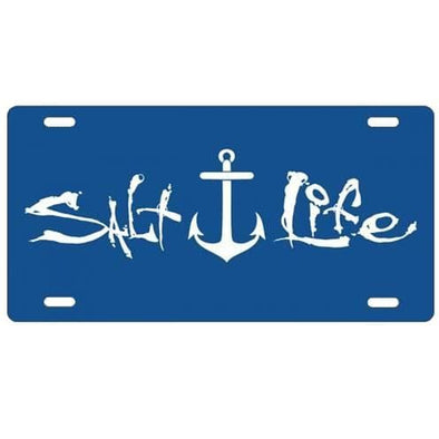 Gifts Salt Life Signature Anchor License Plate - Shop The DocksSalt Life Gifts