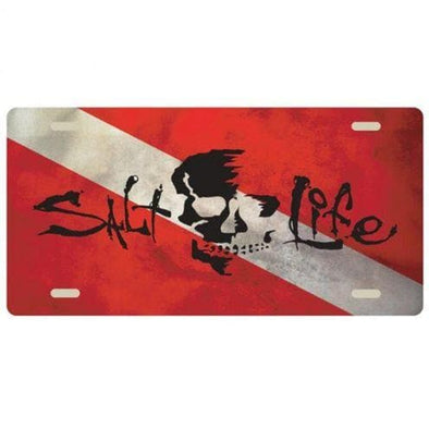Gifts Salt Life Skull Flag License Plate - Shop The DocksSalt Life Gifts