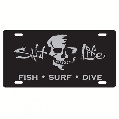 Car Tag Salt Life At Ease License Plate - Shop The DocksSalt Life Car Tag