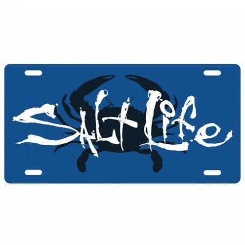 Car Tag Salt Life Salty Crab License Plate - Shop The DocksSalt Life Car Tag