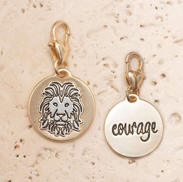Jewelry Amanda Blu Gold 2-Tone Charm - Lion - Shop The DocksAmanda Blu Jewelry
