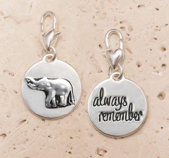 Jewelry Amanda Blu Silver 1-Tone Charm - Elephant - Shop The DocksAmanda Blu Jewelry