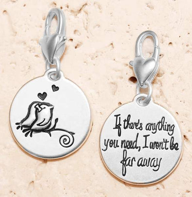 Jewelry Amanda Blu Silver 1-Tone Charm - Two Birds - Shop The DocksAmanda Blu Jewelry