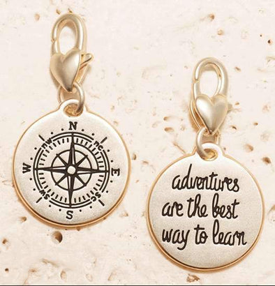 Jewelry Amanda Blu Gold 1-Tone Charm - Compass - Shop The DocksAmanda Blu Jewelry
