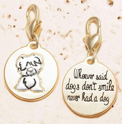 Jewelry Amanda Blu Gold 2-Tone Charm - Puppy - Shop The DocksAmanda Blu Jewelry