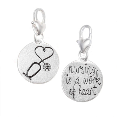 Jewelry Amanda Blu Silver 1-Tone Charm - Stethoscope - Shop The DocksAmanda Blu Jewelry
