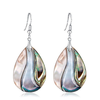 Jewelry Genuine Abalone Shell Teardrop Dangle Earrings - Shop The DocksEarrings Under $20 Jewelry