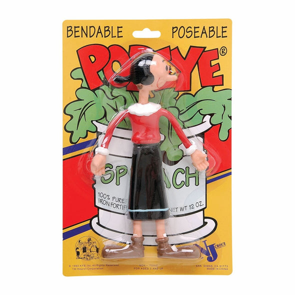 Olive Oyl 7 Inch Bendable.