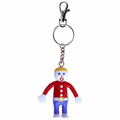 Mr Bill Bendable Key Chain.