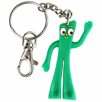 Gumby Bendable Key Chain.
