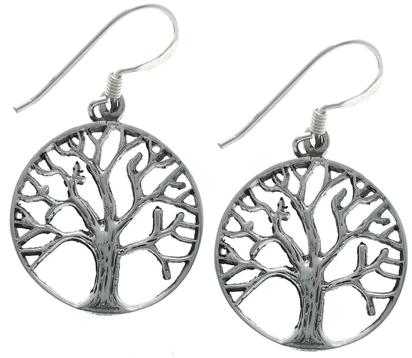 Jewelry Sterling Silver Tree Of Life Hook Dangle Earrings - Shop The DocksMona Ann Designs Jewelry
