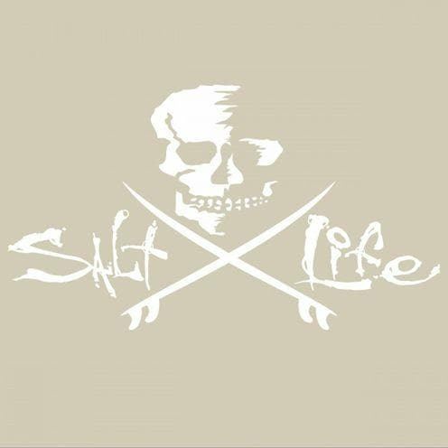 Decal Salt Life Skull And Boards Decal - Shop The DocksSalt Life Decal