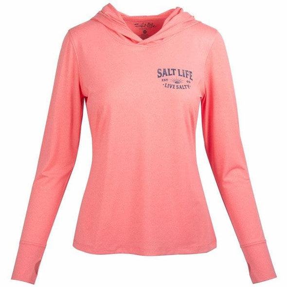 Apparel Salt Life Women's Salty Sunset Performance Pullover Hoodie - Shop The DocksSalt Life Apparel