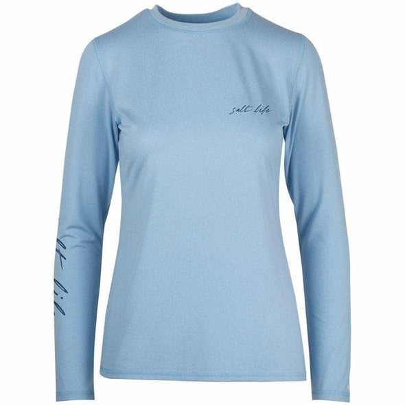 Apparel Salt Life Women's Ameridream Long Sleeve Performance Tee Shirt - Shop The DocksSalt Life Apparel