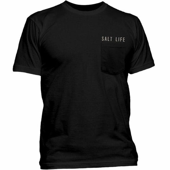 Apparel Salt Life Men's Happy Hour Pocket Tee Shirt - Shop The DocksSalt Life Apparel