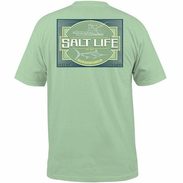 Apparel Salt Life Men's Cast Lane Charter Tee Shirt - Shop The DocksSalt Life Apparel