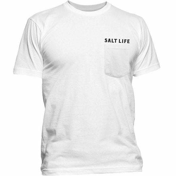 Apparel Salt Life Men's Red White and Bite Pocket Tee Shirt - Shop The DocksSalt Life Apparel