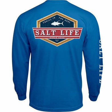 Apparel Salt Life Men's Lock Down Long Sleeve Tee Shirt - Shop The DocksSalt Life Apparel