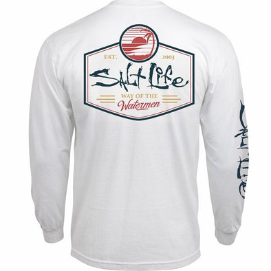 Salt Life Men's Salt Vibe Long Sleeve Tee Shirt.