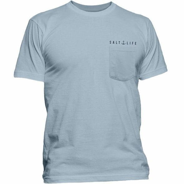 Apparel Salt Life Men's Lobster Shanty Pocket Tee Shirt - Shop The DocksSalt Life Apparel