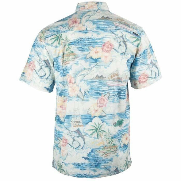 Apparel Salt Life Men's Boat Life Woven Button Shirt - Shop The DocksSalt Life Apparel