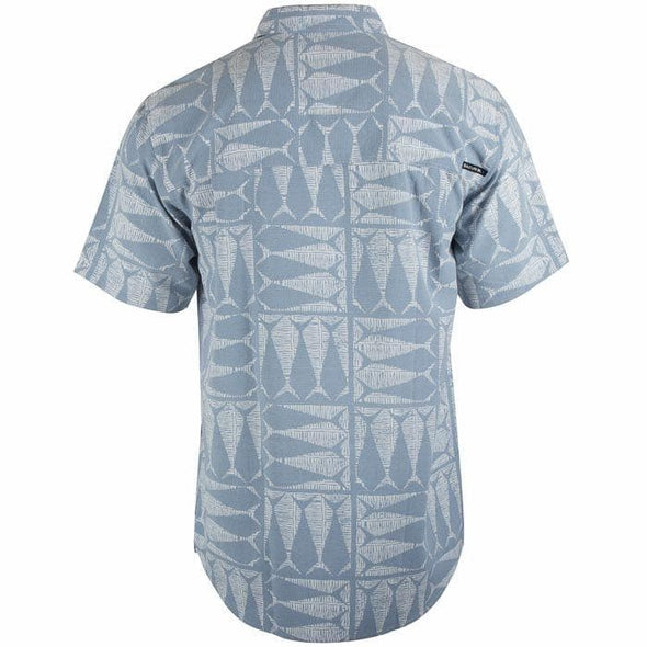 Apparel Salt Life Men's Optic Tails Woven Performance Button Shirt - Shop The DocksSalt Life Apparel