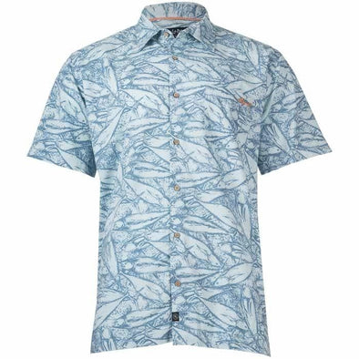 Apparel Salt Life Men's Gridlock Woven Button Shirt - Shop The DocksSalt Life Apparel