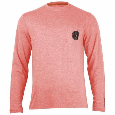 Apparel Salt Life Men's Aqualite Performance Long Sleeve Pocket Tee Shirt - Shop The DocksSalt Life Apparel