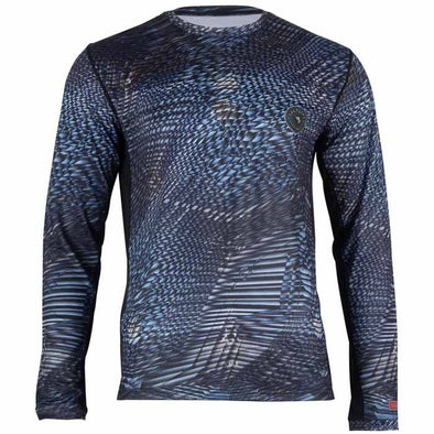 Salt Life Metal Scales Performance Long Sleeve Pocket Tee.