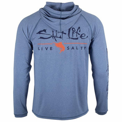 Salt Life Men's Signature Marlin Performance Hoodie.