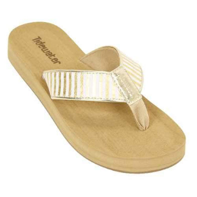 Footwear Tidewater Women's Onslow Wedge Thong Sandal - Shop The DocksTidewater Footwear